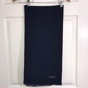EUC Christian Dior Wool Scarf